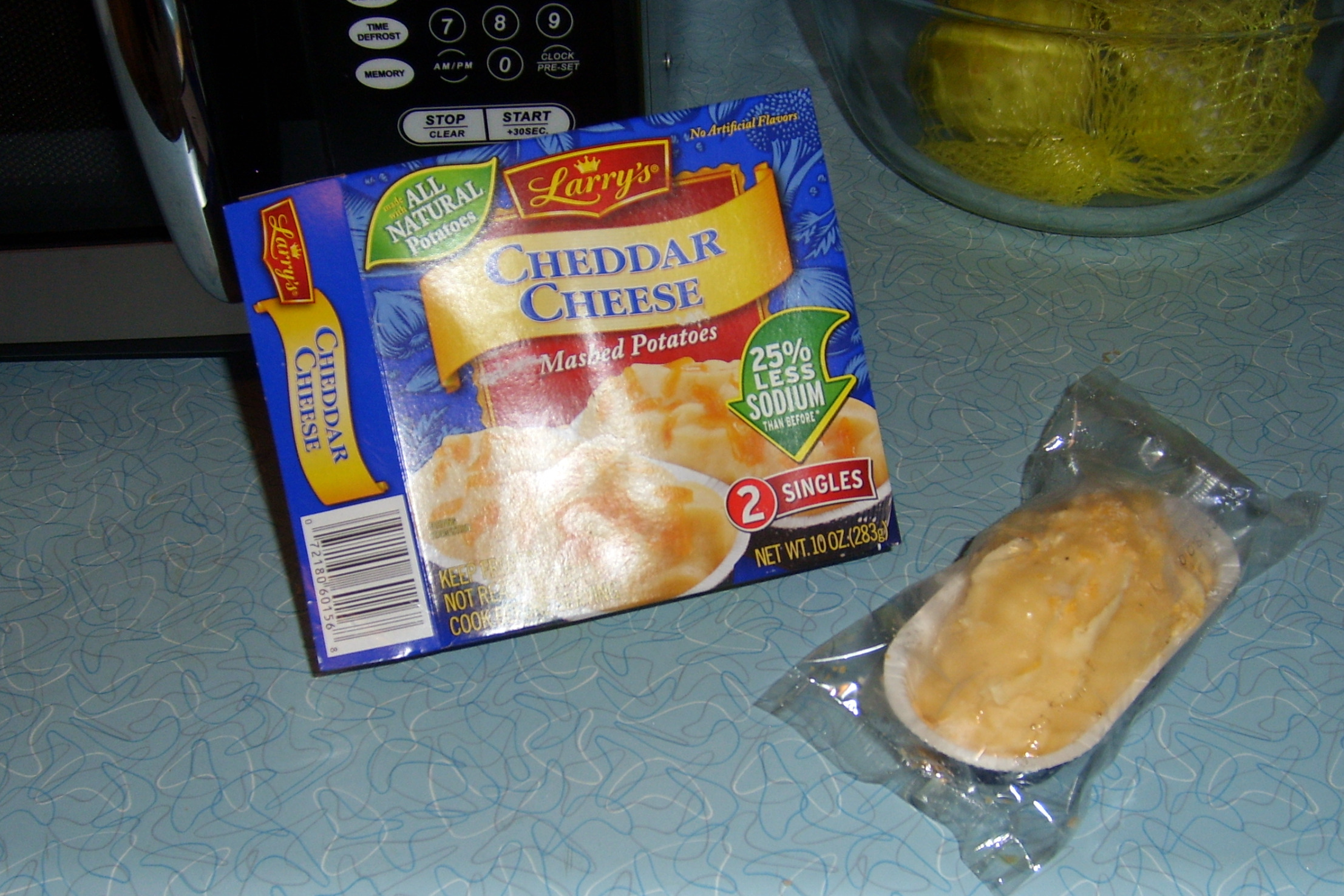 pan fried chicken and microwavable