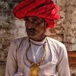 Portrait, Rabari Priest Jawai, Rajasthan