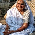 Portrait, Graceful in Old Age, Holipura, Uttar Pradesh