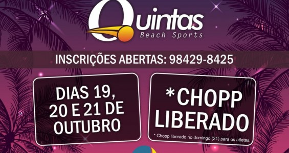 4º Quintas Beach Tennis Open