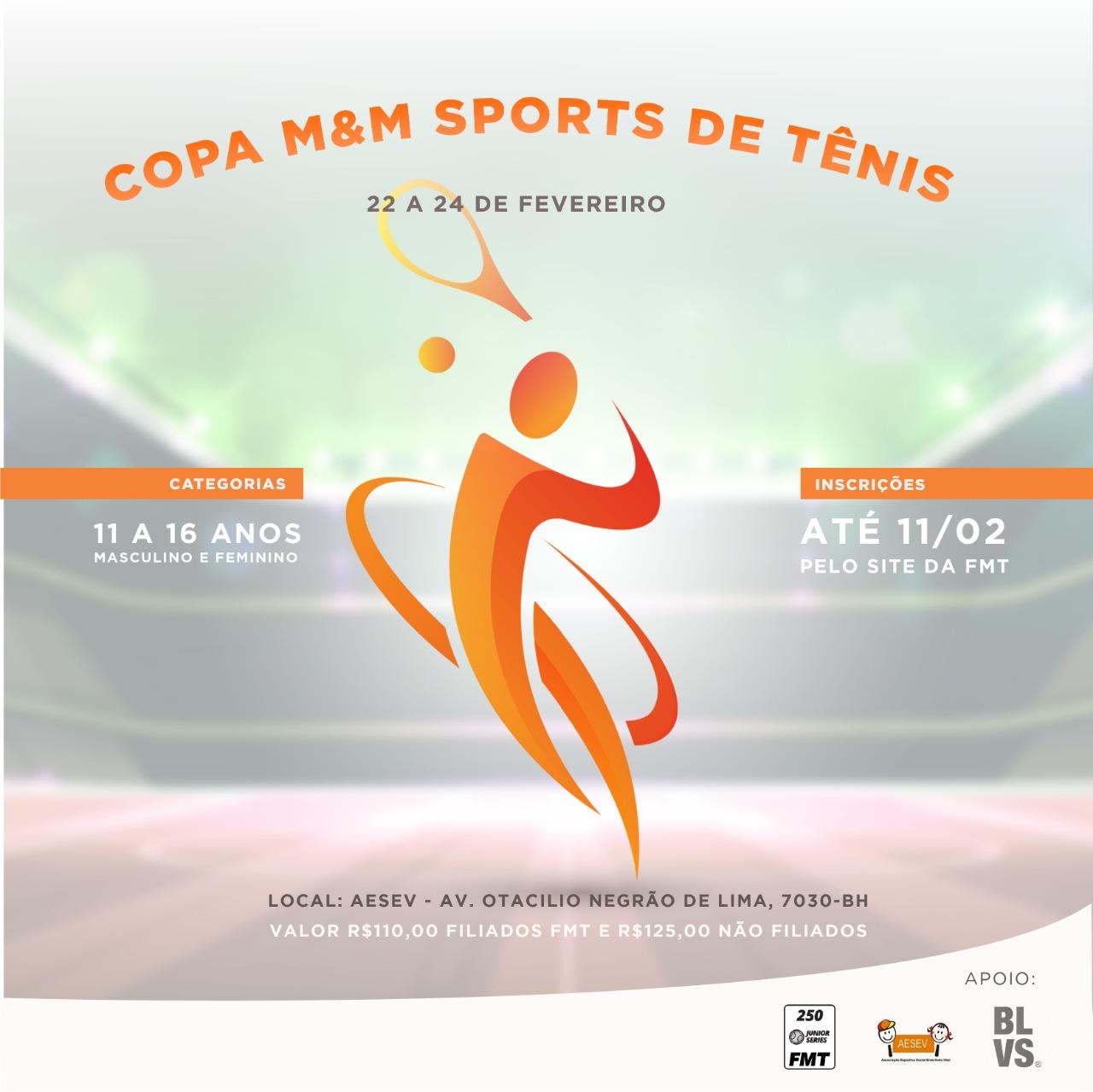 Copa M&M Sports de Tênis 2019
