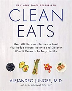 cover of book Clean eats by alejandro junger