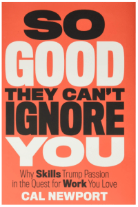 Book cover iamge of So good they can't ignore you