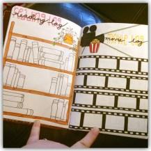 Reading & movie log