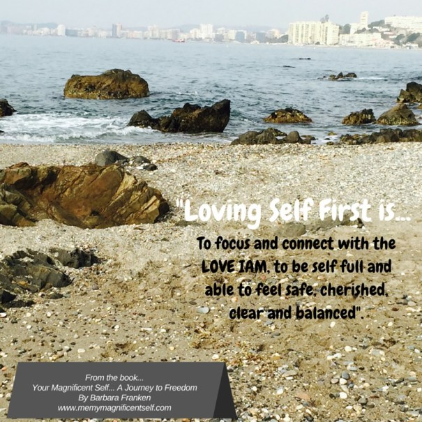 Loving Self First is...