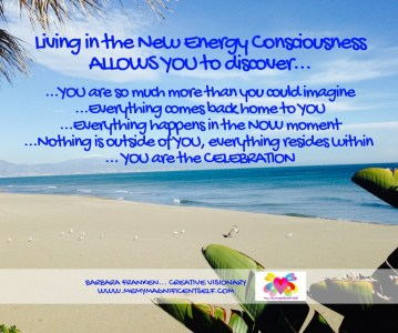 Living in the New Energy Consciousness...
