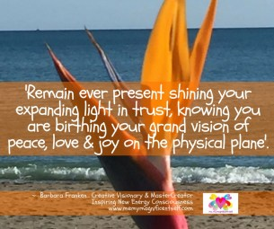 Shine your light & trust...