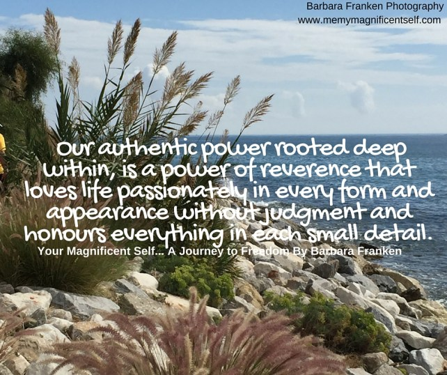 Our Authentic Power...