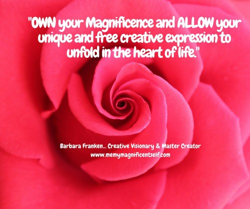 Own YOUR Magnificence