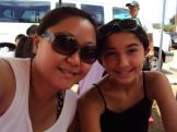 My niece, Aiyana, and I