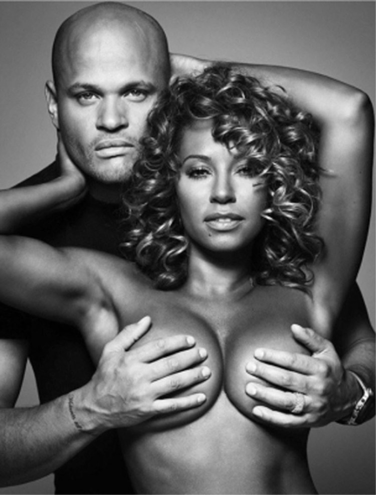 Mel B Topless Breast Cancer 1024