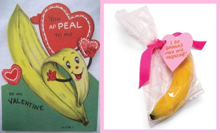 Valentine's Card - Banana