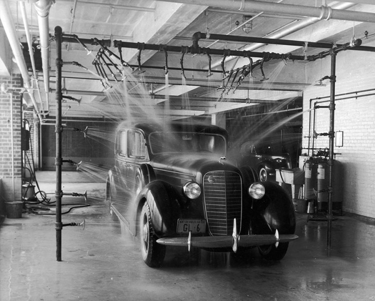 Water Spray Car Wash 1939