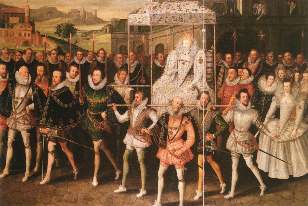 Elisabeth I procession