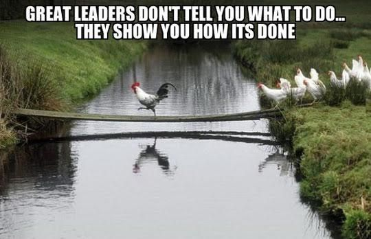 Great Leaders Character, Integrity and Transparency