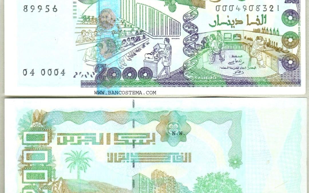 The Algerian Dinar great slide
