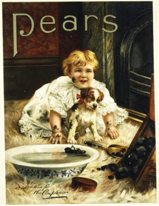 Old Ad of Pears Soap