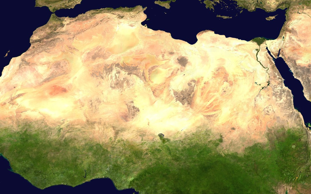 Deep groundwater in the Sahara