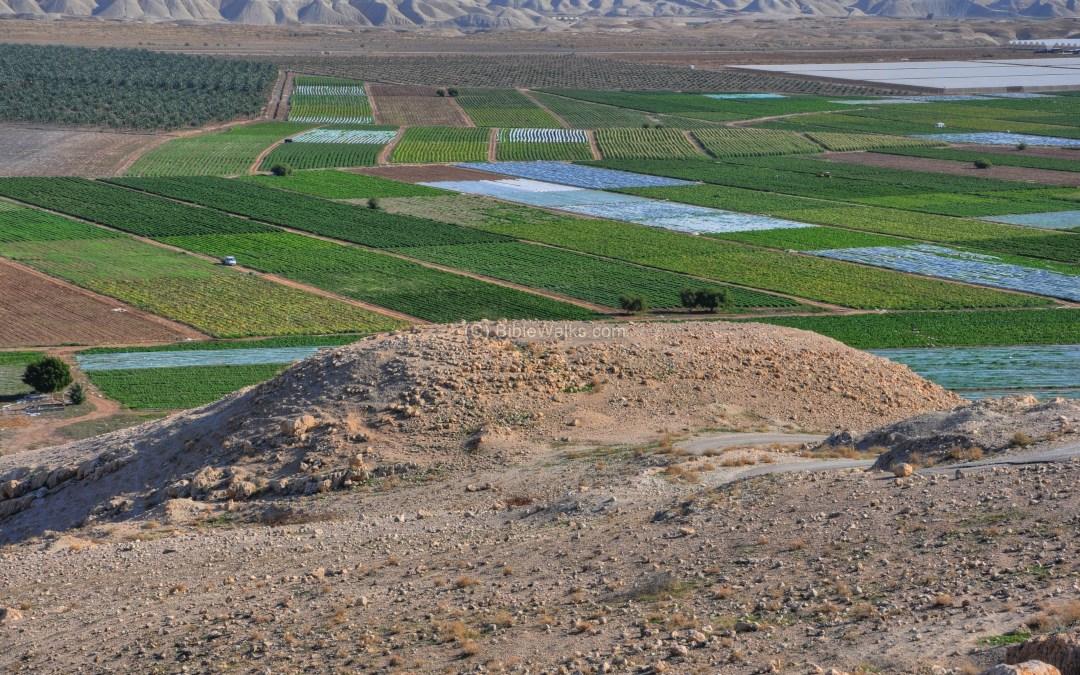Water in the Jordan Valley