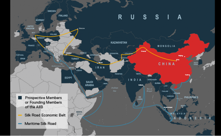 The Silk Routes of the GCC