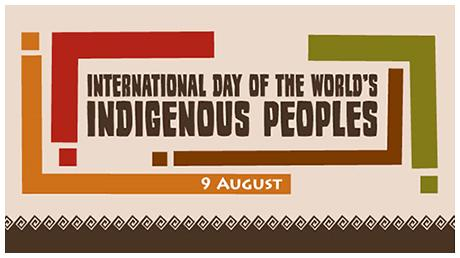 World's Indigenous Peoples Day logo