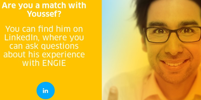 Meet Youssef Chraïbi, MOM at ENGIE