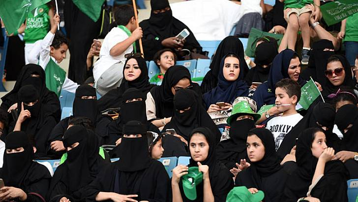 Saudi Arabia today is different. It's not Saudi Arabia five years ago