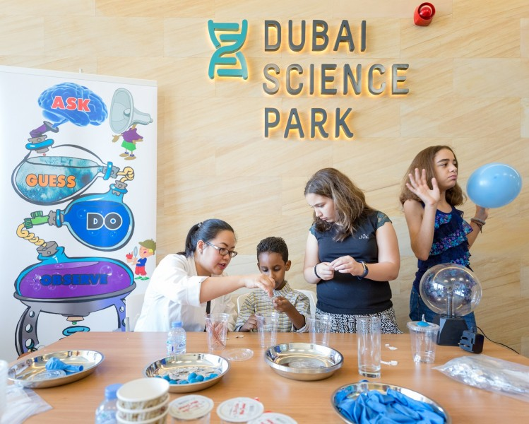 """Scientific future shaped by ICT"": Dubai Science Park Director"