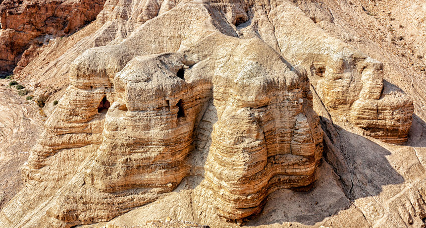 Evidence of a Cosmic Calamity in ancient Dead Sea