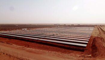 Full potential of solar PV in the MENA