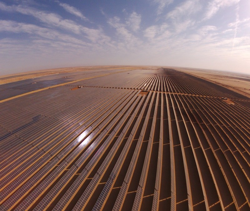 Egypt's giant solar park operational in 2019