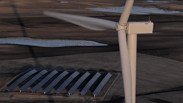 A Fine Couple They Are (Wind and Solar Power)