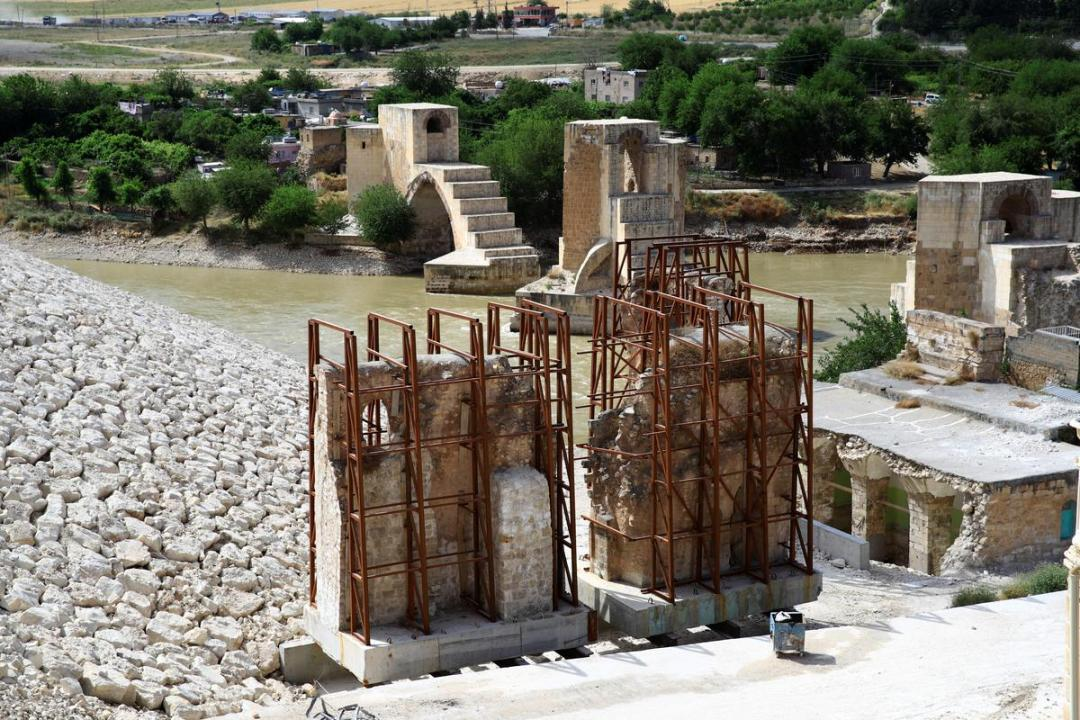 Turkey starts filling huge Tigris river dam