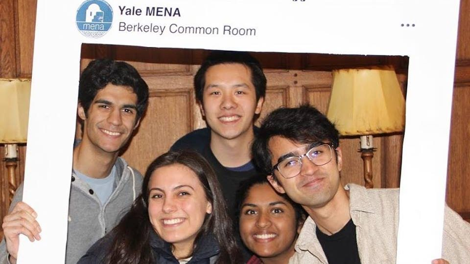 Greater Middle Eastern and North African representation on Yale campus