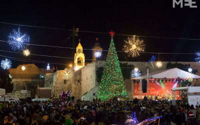 How the Palestinian West Bank welcomes tourists at Christmas