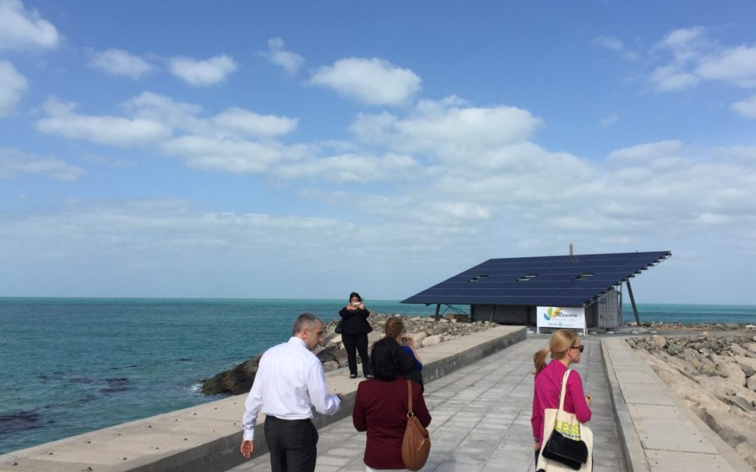A new solar desalination system to address water scarcity