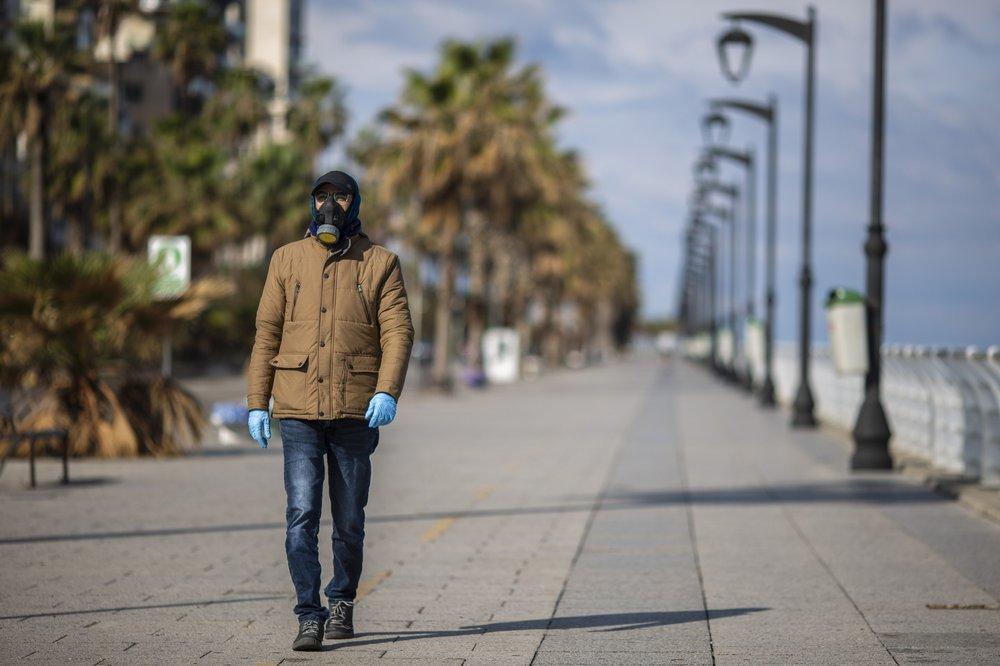 Jordan goes on virus lockdown as Iran's death toll mounts
