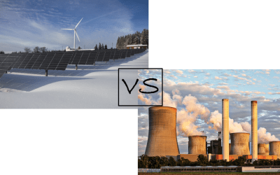 Looking at the big debate between renewables and nuclear energy