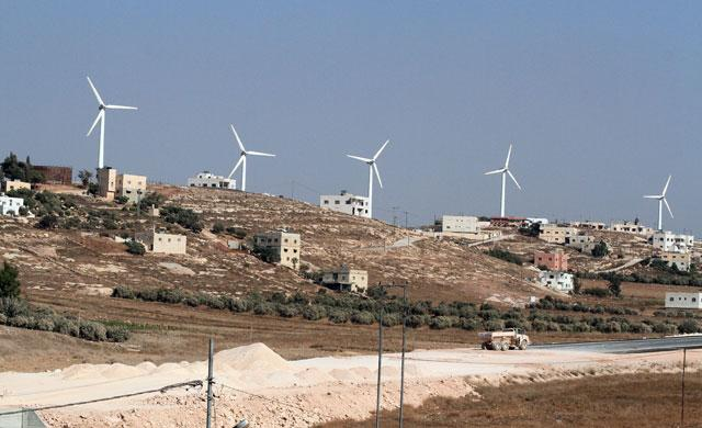 Commercial Operation Of Shobak Wind Farm In Jordan