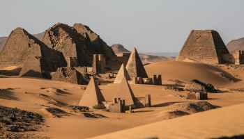 This article republished froSudan's 'forgotten' pyramids risk being buried by shifting sand dunes