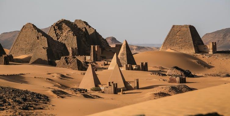 Sudan's 'forgotten' pyramids risk being buried
