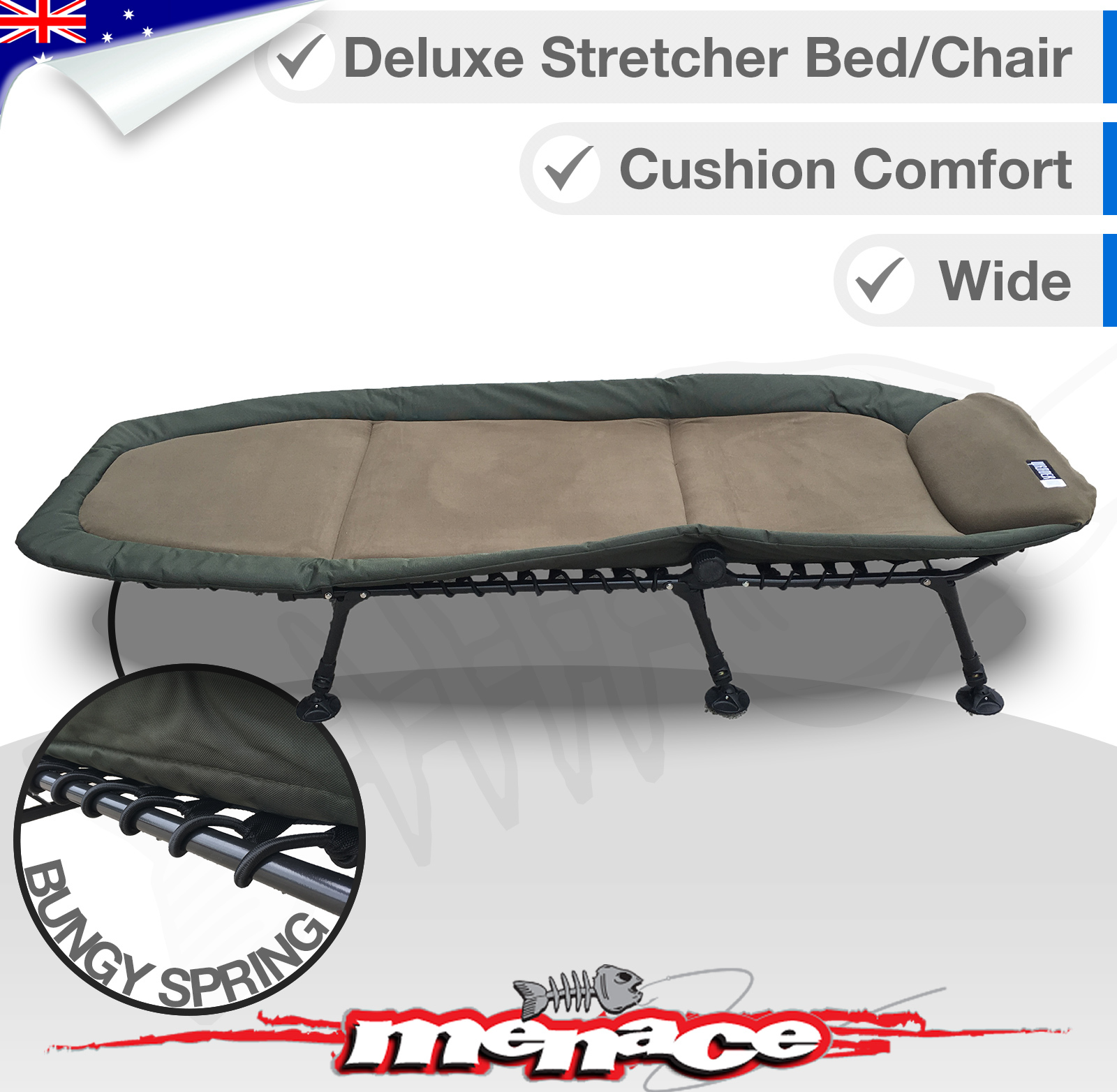Folding Sleeping Chair Wander Oz Fold Out Stretcher Sleeping Bed Chair