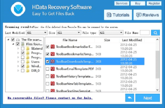 HData Recovery Review: Hard Drive Data Recovery Software