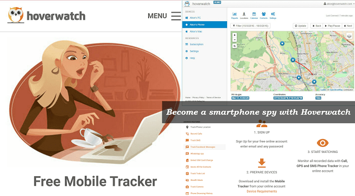 Free Mobile Tracker Service