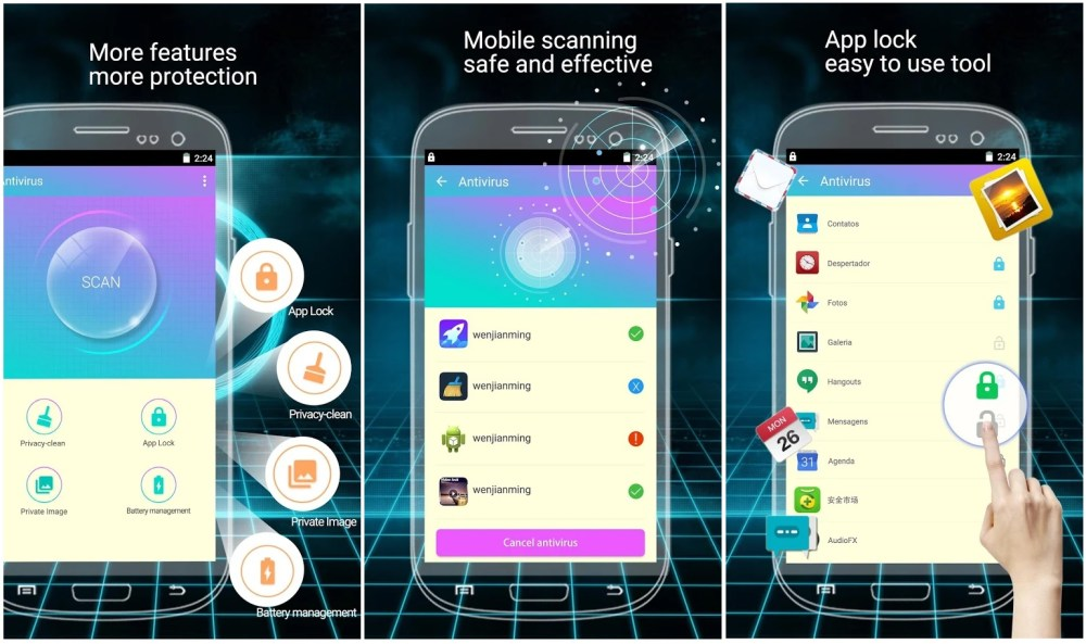 Optimize your Android Smartphone with Phone Security: Antivirus&Clean