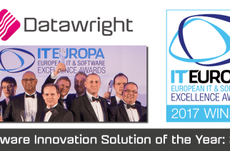 Winners of the Software Innovation Solution of the Year Award: Datawright