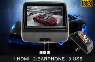 9 Inch Active Car Headrest DVD Monitor Review