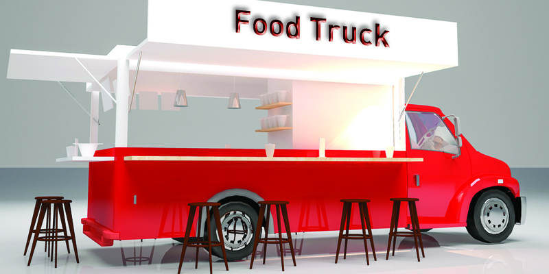 3 exterior food truck design tips to attract more customers for Food truck blueprint