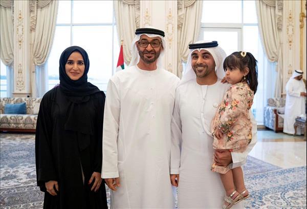الإمارات محمد بن زايد يستقبل فريق عمل مبادرة أمنتك بلادك Menafn Com