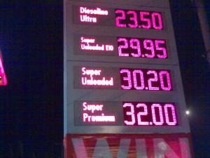 gasoline-march